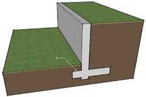Retaining-wall---example